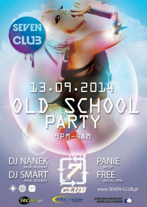 Klub Seven (Pleszew) - Old School Party (13.09.2014)