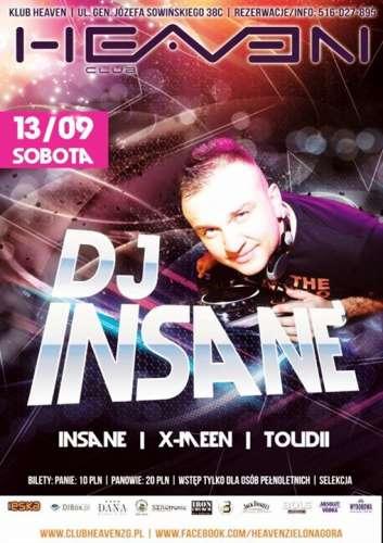 Heaven (Zielona G�ra) - DJ Insane (13.09.2014)