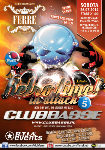 Ferre - Clubbasse @ Video Live Mix (26.07.2014)
