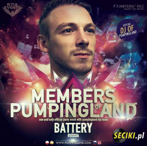 Battery! - Members Of Pumpingland Promo Mix