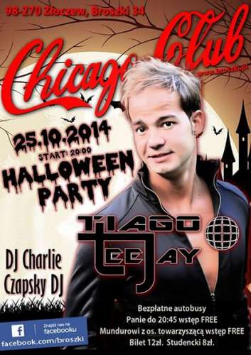 Chicago Club Broszki - Halloween Party (25.10.2014)