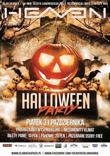 Heaven (Zielona Góra) - DJ X-Meen (31.10.2014)