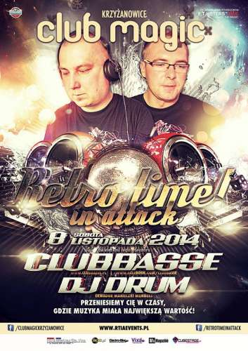 Club (Krzyżanowice) - Retro Time In Attack (08.11.2014)