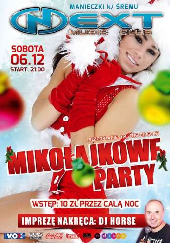 NEXT Music Club (Manieczki) - DJ Horse (06.12.2014)