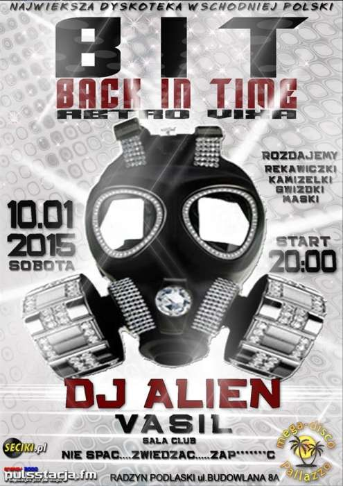 Mega Disco Pallazzo Back In Time Retro Vixa 10.01.2015