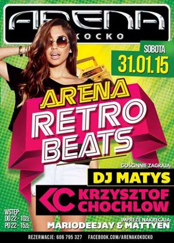 Arena (Kokocko) - Matty eN @ Retro Beats (31.01.2015)