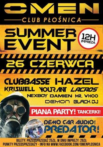 Omen (P�o�nica) - Omen Summer Event (26.06.2015)