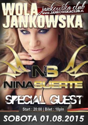 Wola Jankowska Club - Nina Suerte (01.08.2015)