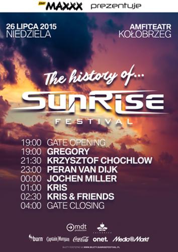 Sunrise Festival 2015 - Dzie� 3 (Niedziela, 26.07.2015)