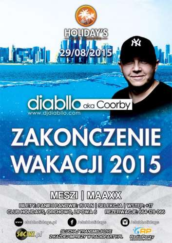 Club Holidays Orchowo 29.08.2015