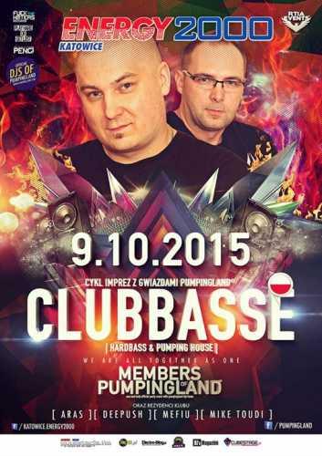 Energy 2000 Katowice - PUMPINGLAND prez. CLUBBASSE (09.10.2015)