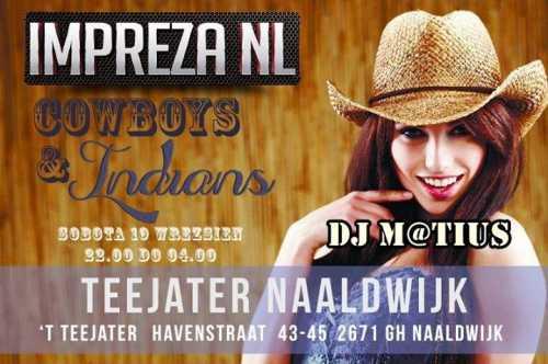Teejater Naaldwijk NL - Dj M@tius (19.09.2015)