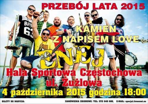 Koncert Grupy Enej w Częstochowie (04.10.2015)