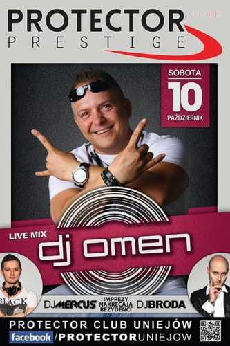 Klub Protector Uniejów - DJ OMEN (10.10.2015)