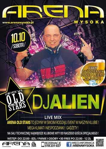 Klub ARENA Wysoka - DJ ALIEN (10.10.2015)