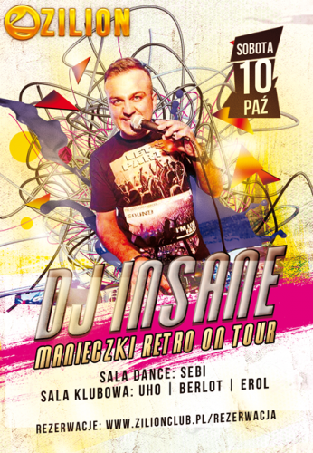 Zilion Club (Wrzelowiec) - Dj Insane (10.10.2015)
