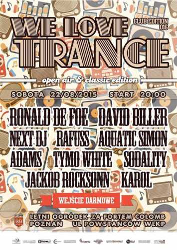 We Love Trance CE 016 - Classic Edition (Fort Colomb - Poznań) Rafuss (22.0 ...