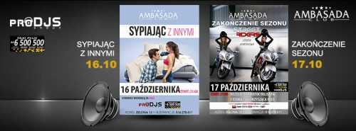 Ambasada Club (Łódź) - DJ JANIO (17.10.2015)