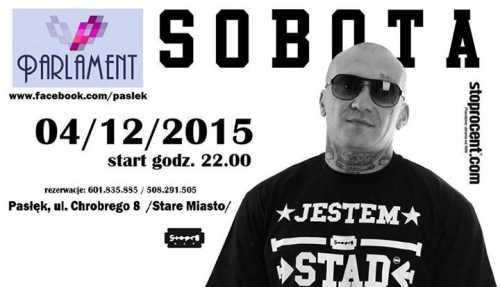 Parlament Pasłęk - Koncert SOBOTA (04.12.2015)