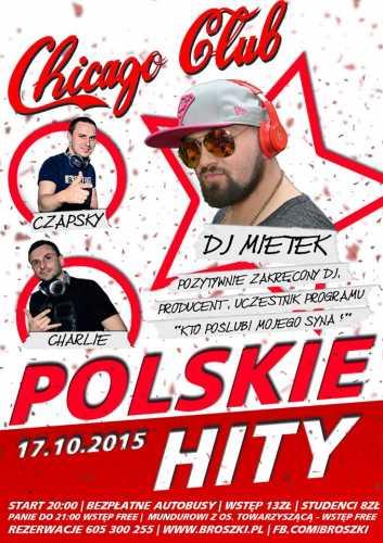 Chicago Club (Broszki) - Polskie Hity (17.10.2015)