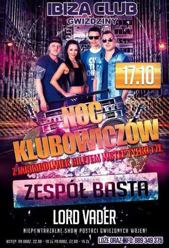 Ibiza Gwiździny - Noc Klubowiczów (17.10.2015)