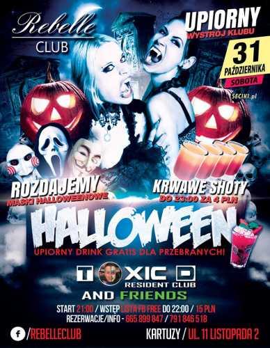 Rebelle Club (Kartuzy) @ Halloween (31.10.2015)