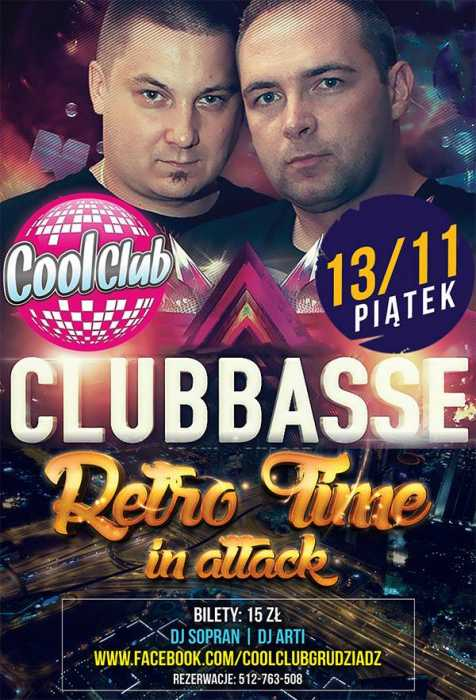 Klub Retro Time In Attack, Sety 2015, Cool Club - Najnowsze Sety