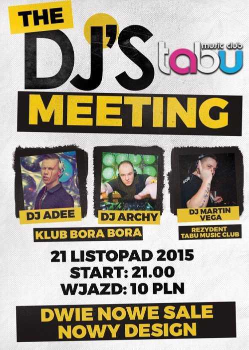 Tabu (Namysłów) - DJ ARCHY (21.11.2015)