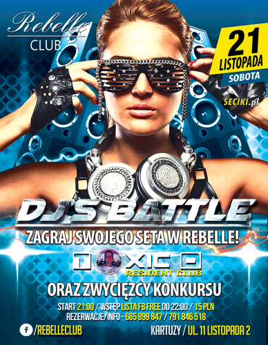 Rebelle Club (Kartuzy) @ DJs Battle (21.11.2015)