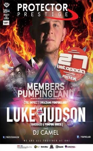 (Wejściówki) Klub Protector Uniejów - Members of Pumpingland 27.11.2015