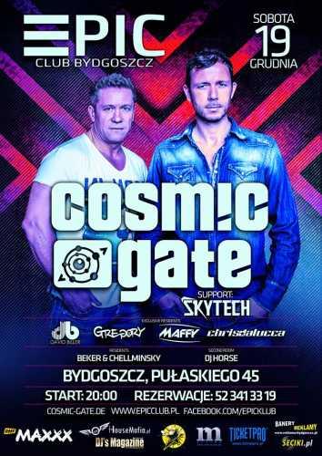 EPIC Club (Bydgoszcz) - Cosmic Gate 19.12.2015.
