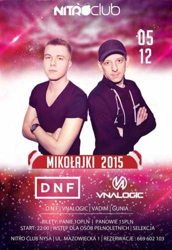 Nitro Club (Nysa) - Dnf & Vnalogic (05.12.2015)