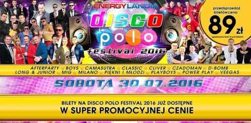 Energylandia - DISCO-POLO FESTIVAL 30.07.2016