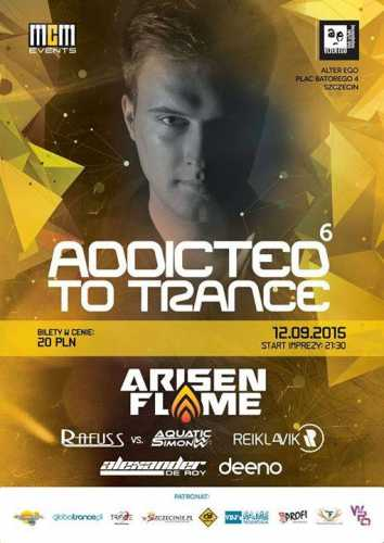 Rafuss & Aquatic Simon - Alter Ego, Szczecin - Addicted To Trance 6 (12.09.2015)
