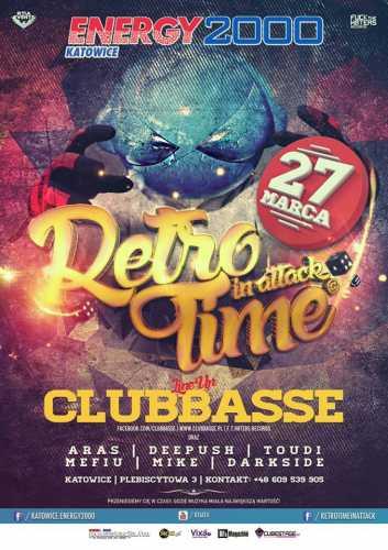 Klub Energy 2000 (Katowice) - Retro Time In Attack (27.03.2016)