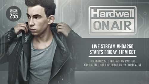 Hardwell - On Air 255 (19.02.2016)