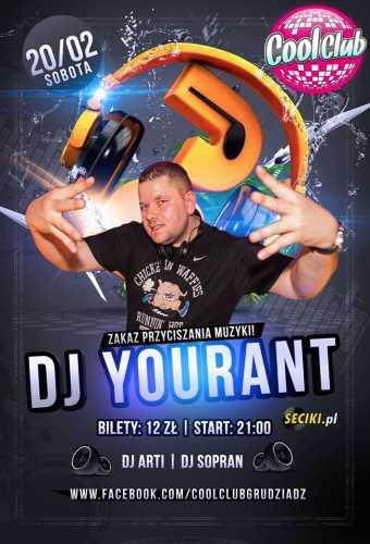 Cool Club (Grudziądz) - DJ Yourant (20.02.2016)