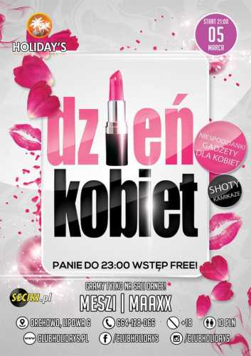 Club Holidays Orchowo - Dzień Kobiet (5.03.2016)