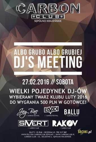 Klub Carbon (Sępólno Krajeńskie) - Jay Bae (27.02.2016)