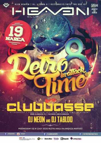 Klub Heaven (Leszno) - Retro Time In Attack (19.03.2016)
