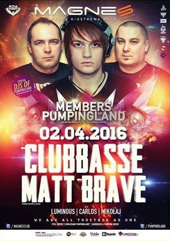 Klub Magnes (Wtórek k. Ostrowa Wlkp.) -  Members of Pumpingland (2.04.2016)
