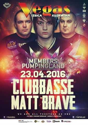 Klub Vegas (Izbica Kujawska) -  Members of Pumpingland (23.04.2016)