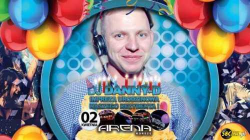 Klub Arena (Korsze) - DJ Danny-D (02.04.2016)