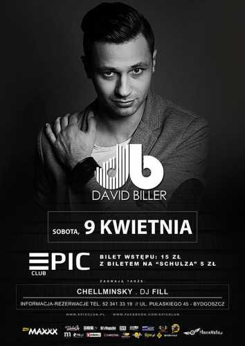 Epic Club (Bydgoszcz) - David Biller (9.04.2016)