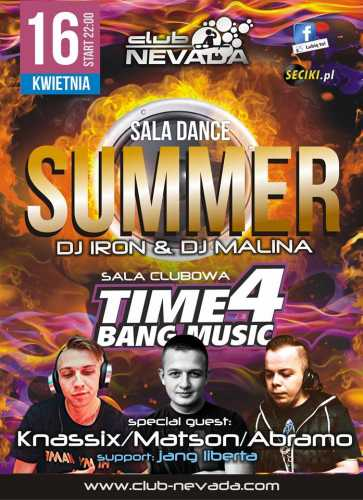 Klub Nevada (Nur) - Time 4 Bang Music (16.04.2016)
