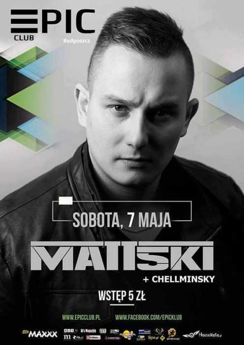 Klub Epic (Bydgoszcz) - Matt5ki (7.05.2016)