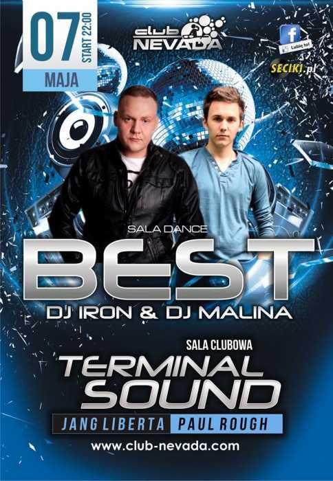 Klub Nevada (Nur) - Best & Terminal Sound (7.05.2016)