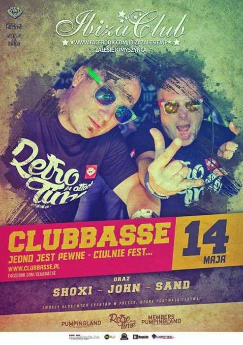 Klub Ibiza (Zalesie) - Clubbasse (14.05.2016)