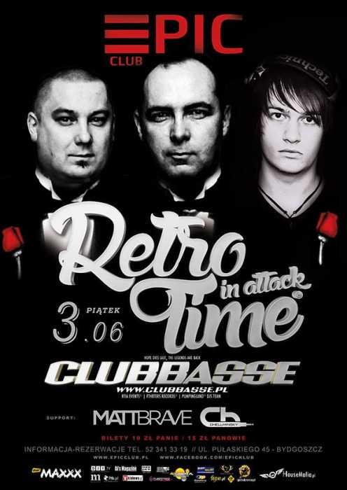 Klub Epic (Bydgoszcz) - Retro Time in Attack (3.06.2016)