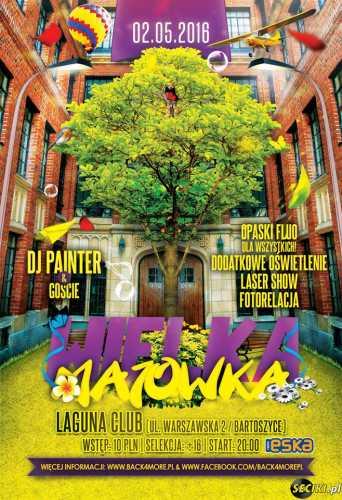 Klub Laguna (Bartoszyce) - PainT3r (02.05.2016)